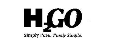 H2 GO SIMPLY PURE. PURELY SIMPLE.