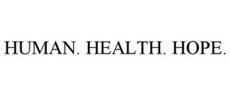 HUMAN. HEALTH. HOPE.