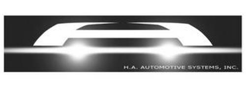 H.A. AUTOMOTIVE SYSTEMS, INC.