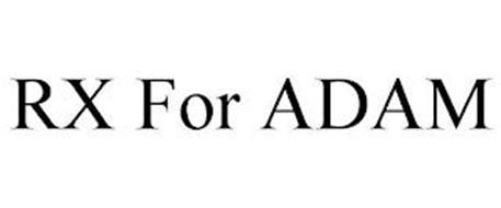 RX FOR ADAM