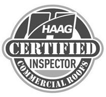 H HAAG CERTIFIED INSPECTOR COMMERCIAL ROOFS