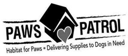 PAWS PATROL HABITAT FOR PAWS · DELIVERING SUPPLIES TO DOGS IN NEED