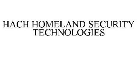 HACH HOMELAND SECURITY TECHNOLOGIES
