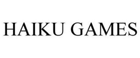HAIKU GAMES