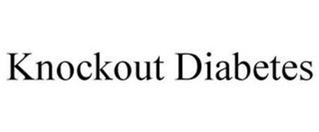 KNOCKOUT DIABETES