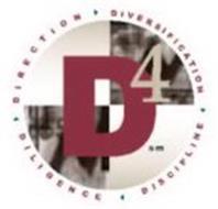 D4 DIRECTION DIVERSIFICATION DISCIPLINE DILIGENCE