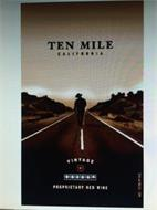 TEN MILE CALIFORNIA VINTAGE 002004 PROPRIETARY RED WINE