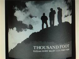 THOUSAND FOOT RUSSIAN RIVER VALLEY 2006 PINOT NOIR