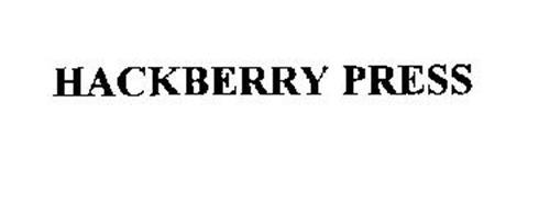 HACKBERRY PRESS