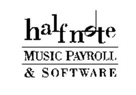 HALFNOTE MUSIC PAYROLL & SOFTWARE