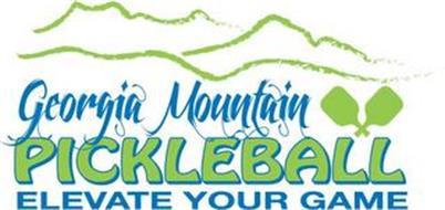 GEORGIA MOUNTAIN PICKLEBALL ELEVATE YOUR GAME