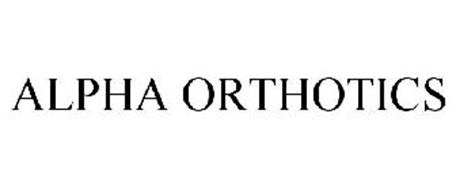 ALPHA ORTHOTICS