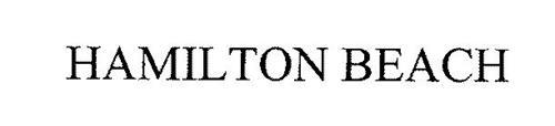 hamilton beach trademark of hamilton beach brands inc