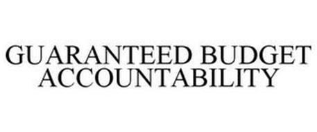 GUARANTEED BUDGET ACCOUNTABILITY