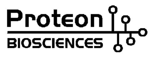 PROTEON BIOSCIENCES