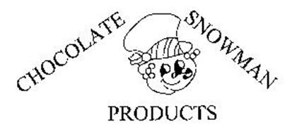 CHOCOLATE SNOWMAN PRODUCTS