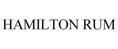 HAMILTON RUM