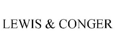LEWIS & CONGER