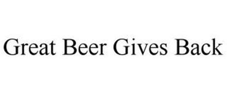 GREAT BEER GIVES BACK