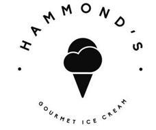· HAMMOND'S · GOURMET ICE CREAM