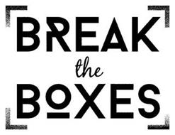 BREAK THE BOXES