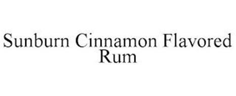 SUNBURN CINNAMON FLAVORED RUM
