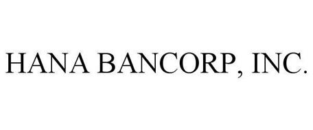 HANA BANCORP, INC.