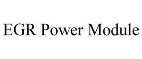 EGR POWER MODULE