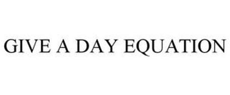 GIVE A DAY EQUATION