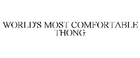 WORLD'S MOST COMFORTABLE THONG