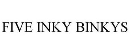 FIVE INKY BINKYS