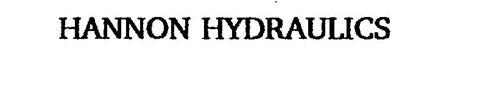 HANNON HYDRAULICS