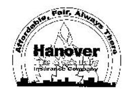 HANOVER FIRE & CASUALTY INSURANCE COMPANY AFFORDABLE, FAIR, ALWAYS THERE