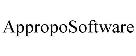 APPROPOSOFTWARE