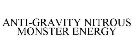 ANTI-GRAVITY NITROUS MONSTER ENERGY