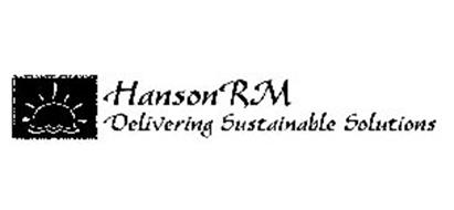HANSONRM DELIVERING SUSTAINABLE SOLUTIONS
