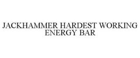 JACKHAMMER HARDEST WORKING ENERGY BAR