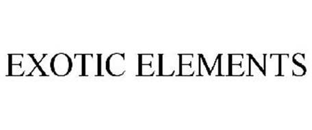 EXOTIC ELEMENTS