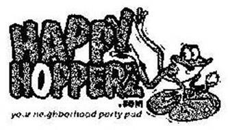HAPPY HOPPERZ.COM YOUR NEIGHBORHOOD PARTY PAD