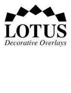 LOTUS DECORATIVE OVERLAYS