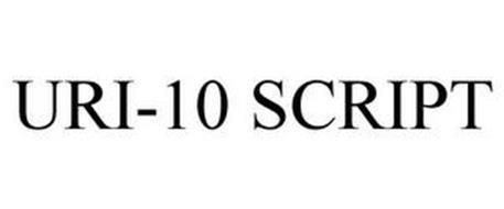 URI-10 SCRIPT