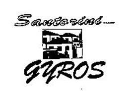SANTORINI BRAND GYROS