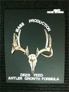 MASS PRODUCTION DEER FEED ANTLER GROWTH FORMULA