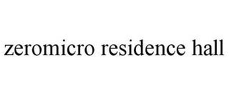 ZEROMICRO RESIDENCE HALL