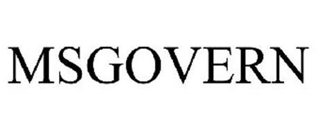 MSGOVERN