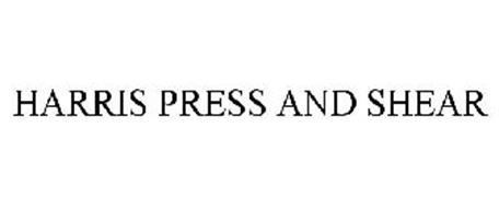 HARRIS PRESS & SHEAR