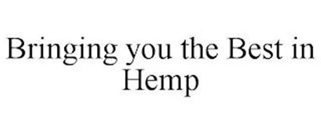 BRINGING YOU THE BEST IN HEMP