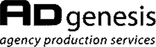 AD GENESIS AGENCY PRODUCTION SERVICES