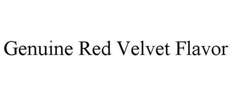GENUINE RED VELVET FLAVOR