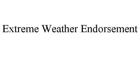 EXTREME WEATHER ENDORSEMENT